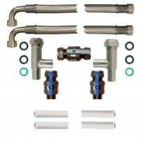 22mm Pro-Install Kit with 750mm Hoses and half inch drain hose