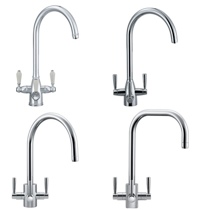 Franke All Four 3-Way Taps